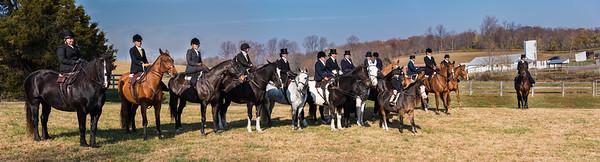 Side Saddle Hunt November 2016