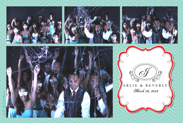 Arlie & Beverly's Wedding (Slow Motion Photo Booth)
