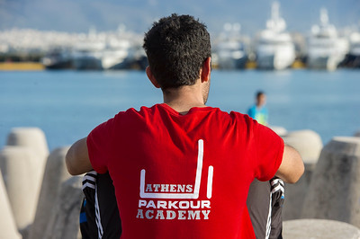 A DAY WITH THE ATHENS PARKOUR ACADEMY