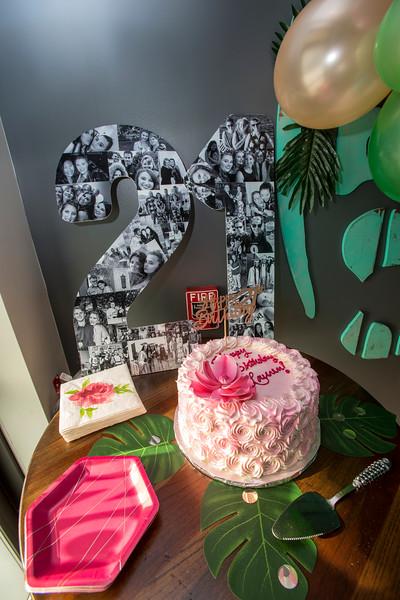 Lauren's Twenty-First