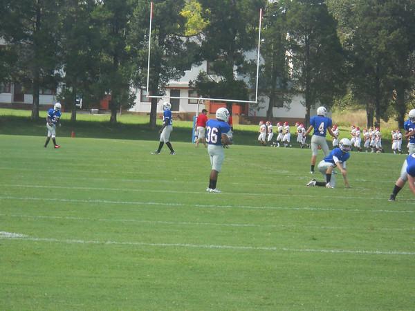 Jr. Prep Football vs. Goochland