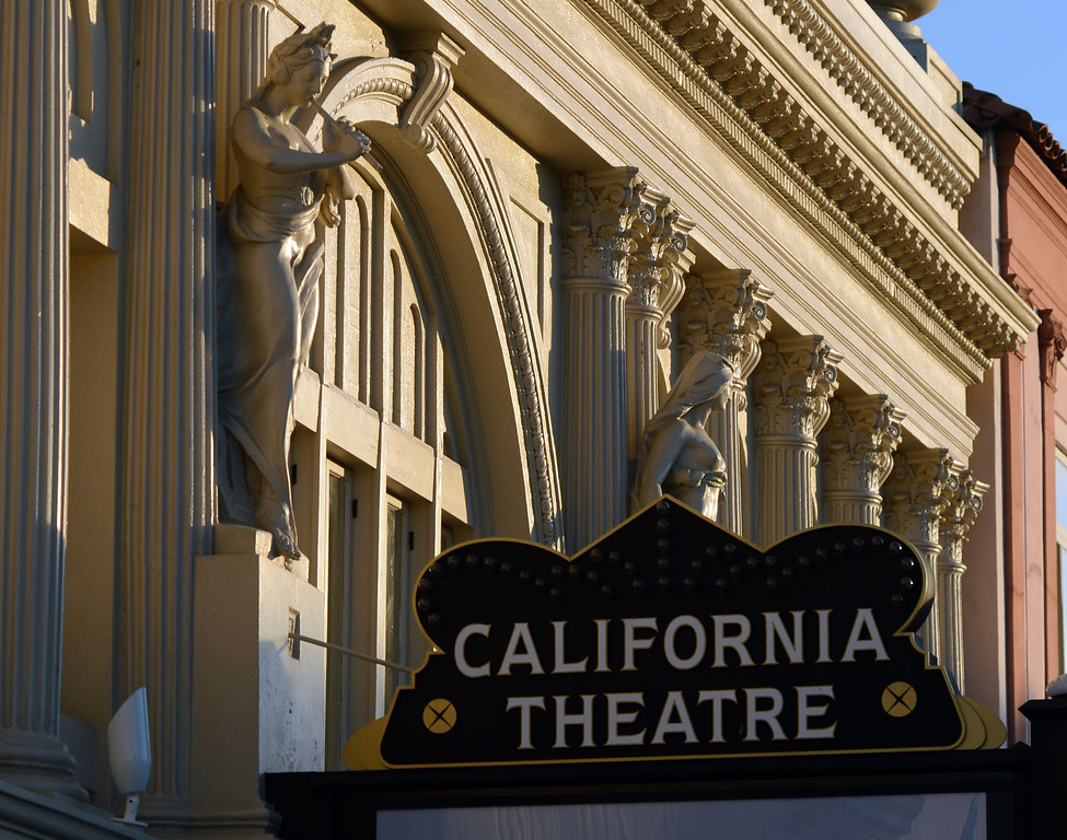 . The show is soon to go on at the restored California Theatre in Pittsburg, Calif. which is photographed on Tuesday, Jan. 15, 2013. The opening gala will take place on Jan. 19 and tickets, priced at $150 per person,  are still available for the event.  (Susan Tripp Pollard/Staff)