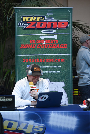 104.5 The Zone Broadcasts from Curb Event Center