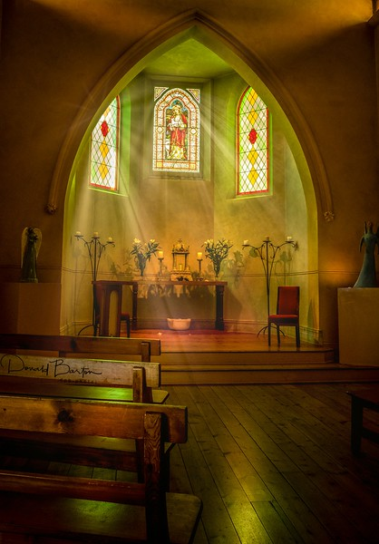 Convent Chapel - Daylesford ~ March
