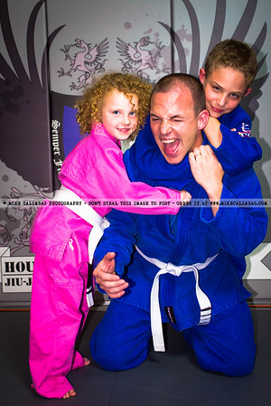 Houston Grappling Academy Student Picture Day - October 2012