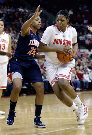 Ohio State vs. Illinois women's basketball