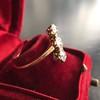 1.38ctw Antique Old European Cut Diamond 3-Stone Ring 17