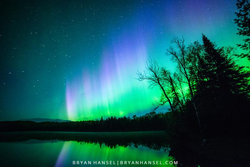 Mink Lake Aurora