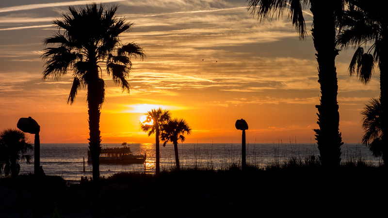 Clearwater Beach, FL    Sunset