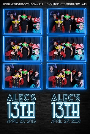 Alec's 13th Birthday