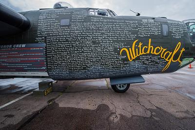 B-24 and B-17
