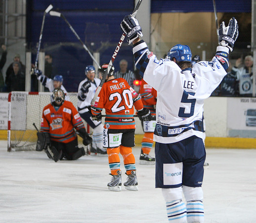Blaze v Sheffield Steelers - 26/09/2010