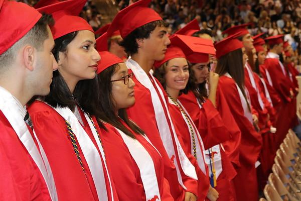 2018 Memorial High Graduation