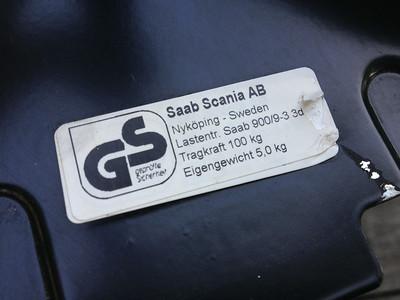 Saab 9-3 (OG) Coupe roof rack