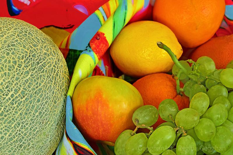 Market Day Fruit Still Life