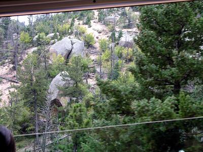 Pikes Peak Cog Railway, Manitou Colorado - Labor Day weekend  2006