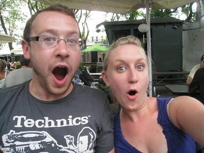 Queens Beergarden August 2009