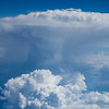 A Strong Updraft Over Oklahoma City