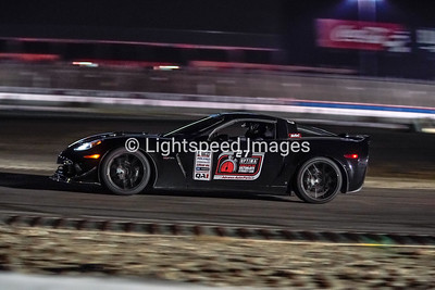 #27 Richard Forsythe - Black C6 Corvette