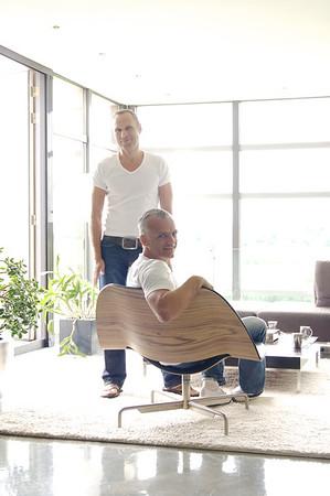Thuis bij… Kees de Vos & RenÉ van Domburg