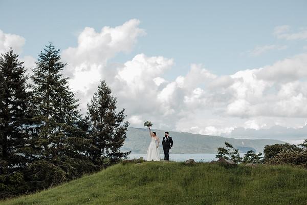 Kim and Mathew's Lake Tarawera Wedding