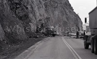 B+W Rockfall - Fraser Canyon