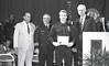 IPD Graduation, April 28, 1988, Img. 18, with Mayor Hudnut, Richard I. Blankenbaker, Paul A. Annee