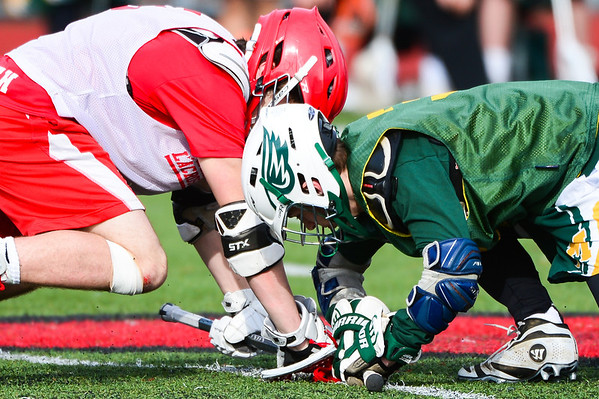 Varsity (boys) v. Minnechaug and Kingswood-Oxford - March 29, 2014