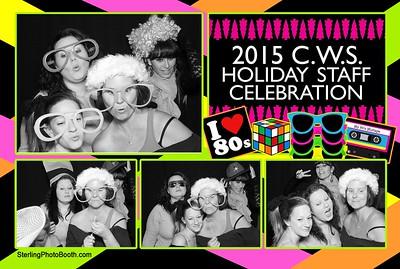 2015 C.W.S. Holiday Staff Celebration