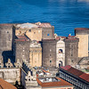 The Castel Nuovo on the Waterfront, Naples, Italy