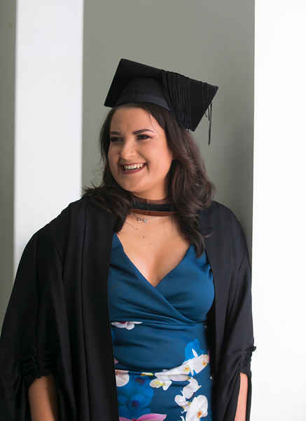 01/11/2018. Waterford Institute of Technology (WIT) Conferring Ceremonies 2018. Pictured is Kinga Adamczewska from Arklow. Picture: Patrick Browne