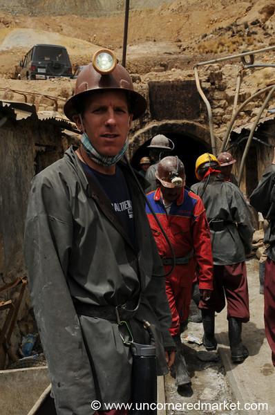 Going Into a Cerro Rico Mine - Potosi, Bolivia