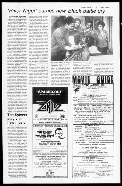 Daily Trojan, Vol. 66, No. 81, March 01, 1974