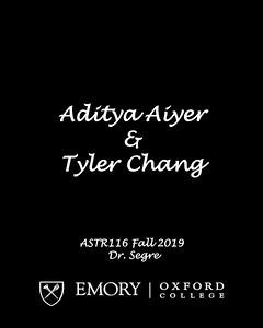 ASTR116 - Fall 2019