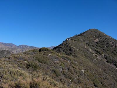 Rattlesnake Peak, 1/26/2007