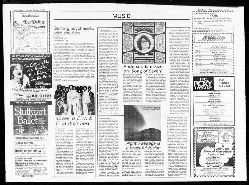 Daily Trojan, Vol. 89, No. 52, December 04, 1980