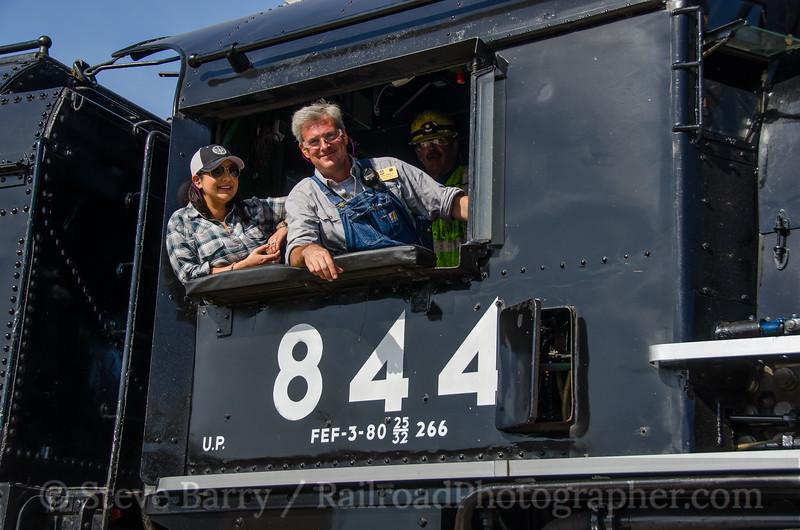 Union Pacific 844<br /> Jefferson City, Missouri<br /> October 17, 2016