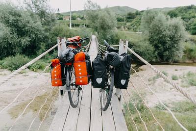 Cu bicicletele în Munții Buzăului