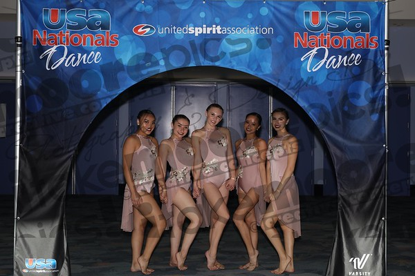 USA Nationals PINK dance Anaheim 3.29.18