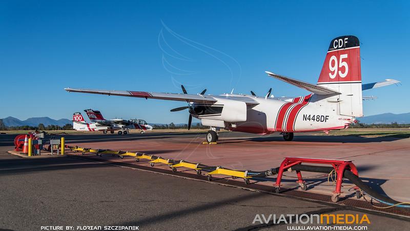 CAL Fire / Marsh Aviation S-2F3AT Turbo Tracker / N448DF