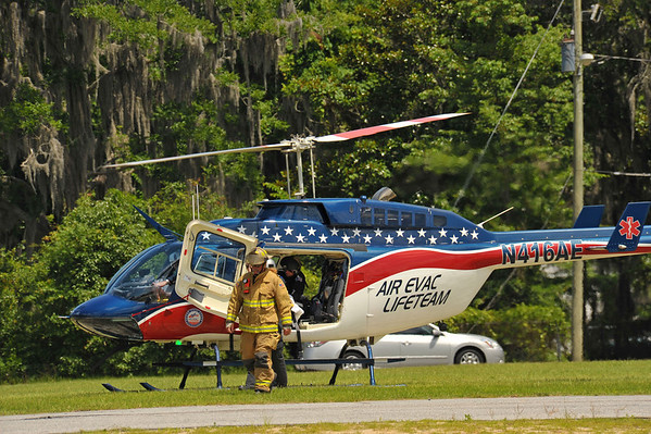 Emergency Life Lift in Darien, GA on 06-15-13