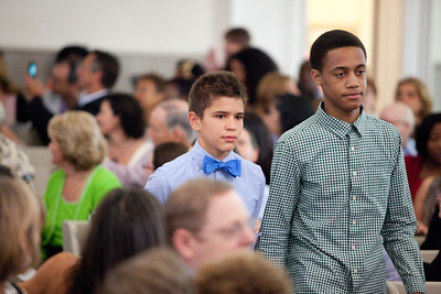 Middle School Graduation Ceremony | 2012