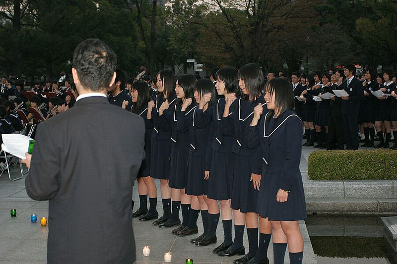Concert at the Peace Park in Hiroshima