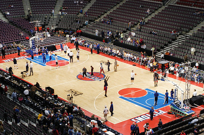 Pistons Game 2005