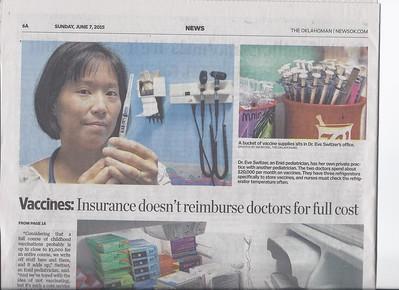 Vaccine Article - Oklahoman