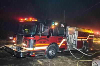 01-31-18 West Lafayette FD House Fire