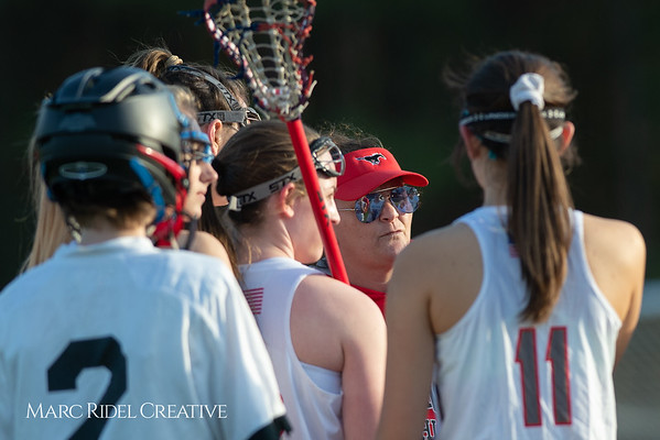 Broughton Lady Caps lacrosse at Middle Creek. February 26, 2019. D4S_1692