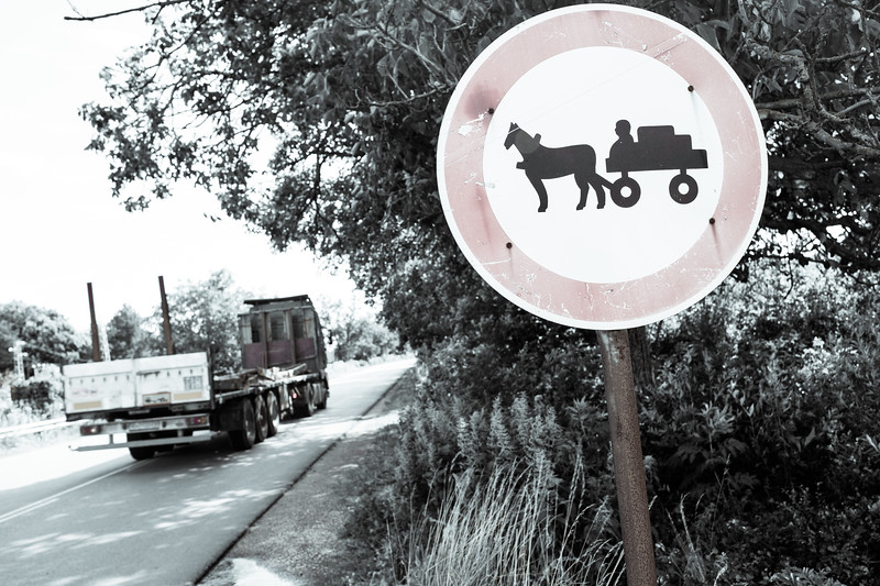 No carts, Roumania