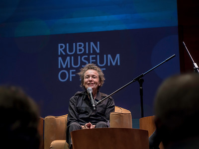 Performance artist Laurie Anderson & Professor of Psychology Daniel Gilbert in RMA's HAPPY TALK