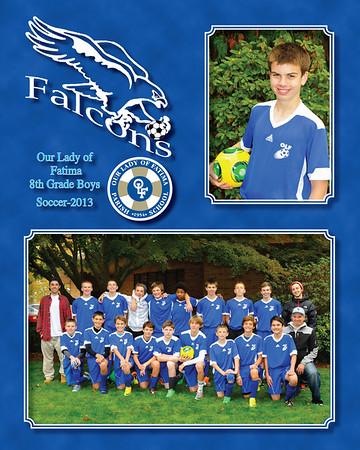 2013 soccer 8th Gr Boys